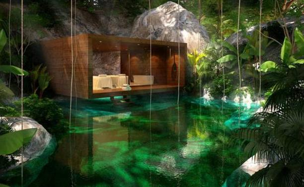 br ves nautisme ce resort mexicain est le plus bel h tel du monde. Black Bedroom Furniture Sets. Home Design Ideas