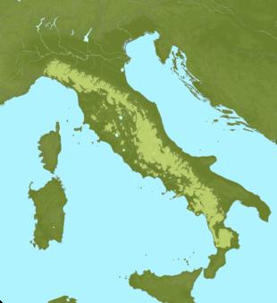 Carte Meteo Apennins