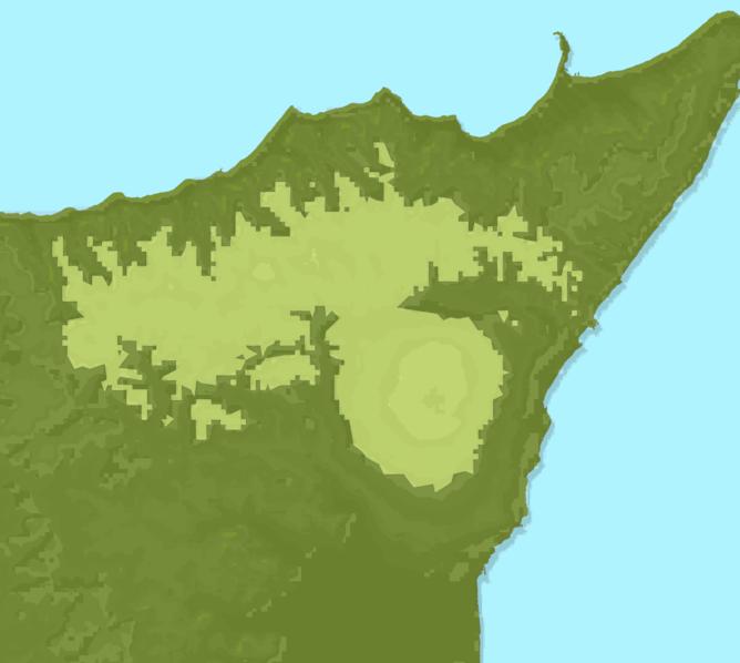 Carte Meteo montagne - Sicile