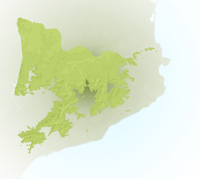 Carte Meteo montagne - Pyrénées Catalanes
