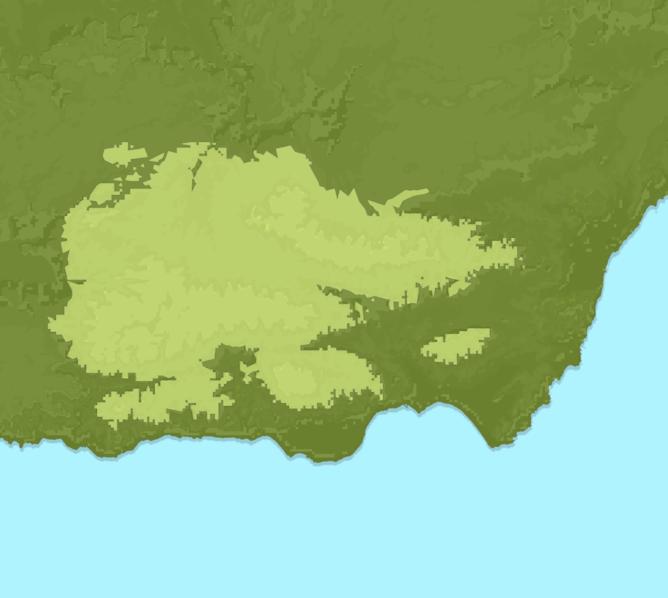 Carte Meteo montagne - Chaîne Bétique