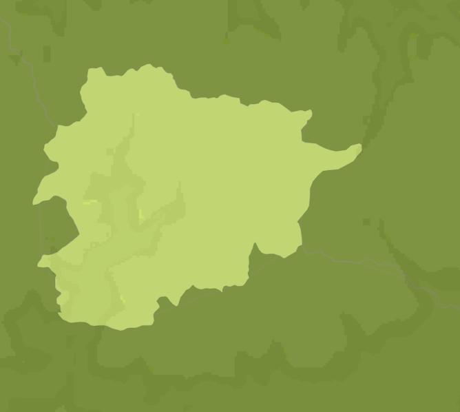 Carte Meteo montagne - Pyrénées Andorranes