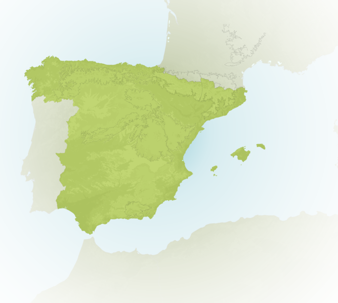 Carte Meteo montagne - Espagne