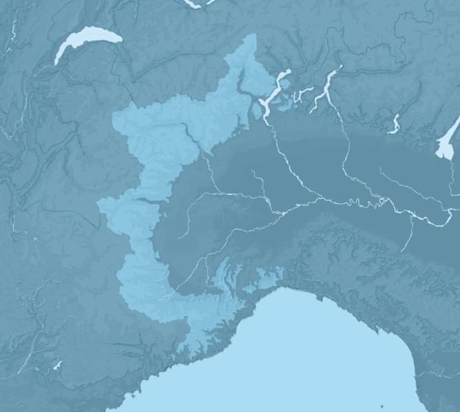 Carte Meteo montagne - Alpes Piémontaises