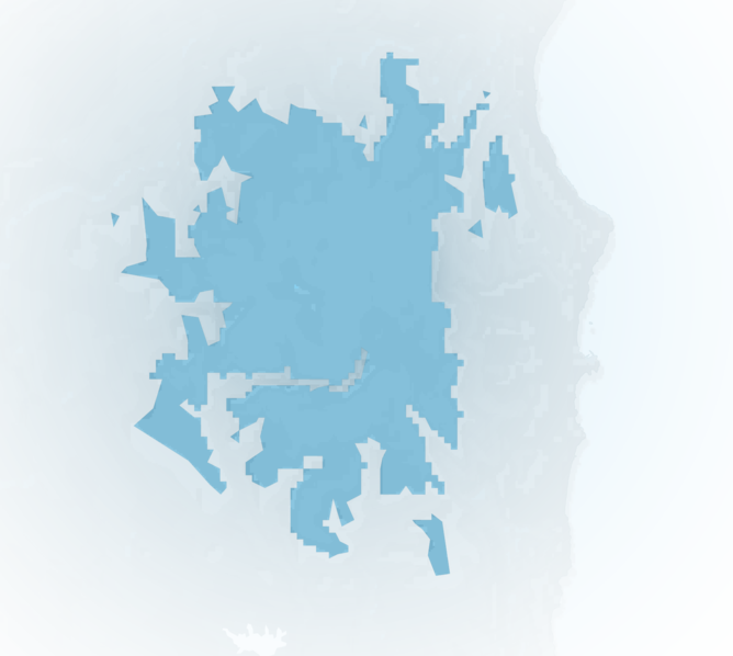 Carte Meteo montagne - Sardaigne