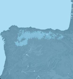Carte Meteo Cordillère Cantabrique