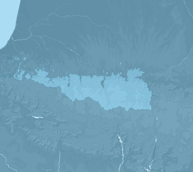 Carte Meteo montagne - Pyrénées occidentales
