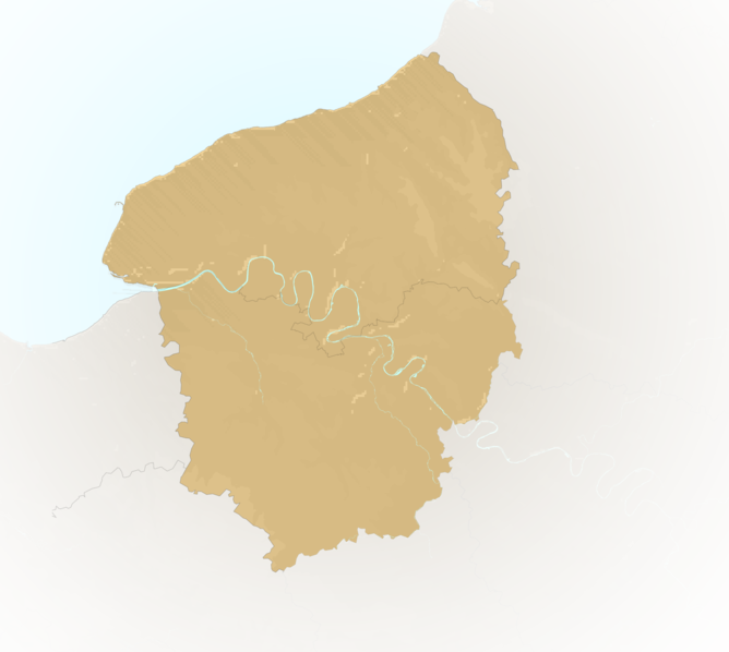 Carte Meteo plage - Haute-Normandie