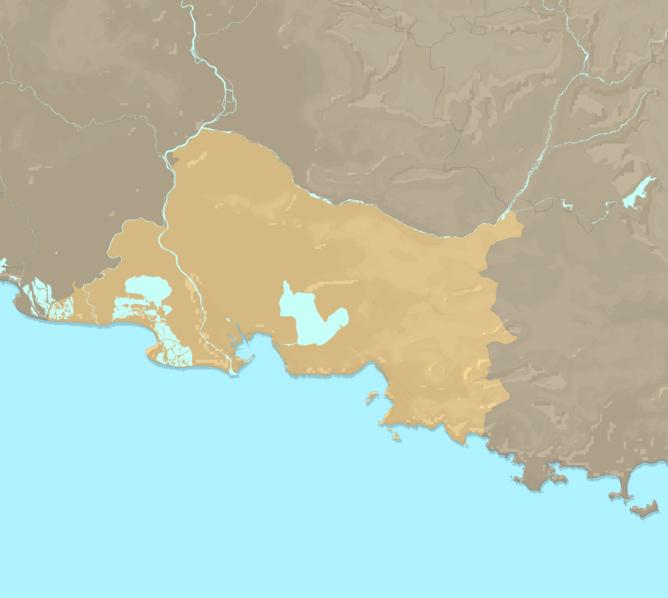Carte Meteo plage - Bouches-du-Rhône