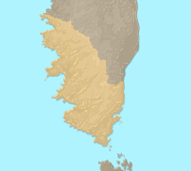 Carte Meteo plage - Corse-du-Sud