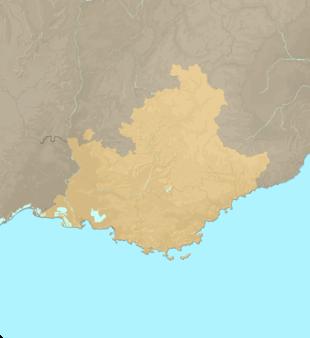 Carte Meteo Provence-Alpes-Côte-d'Azur (PACA)