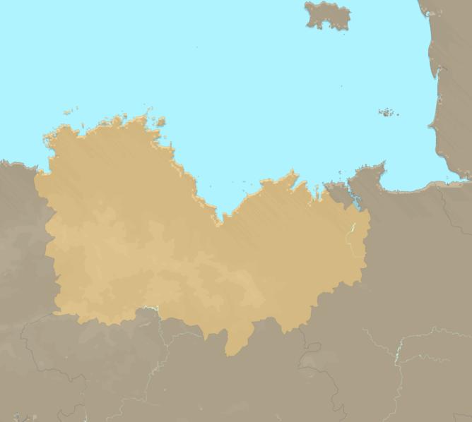 Carte Meteo plage - Côtes-d'Armor