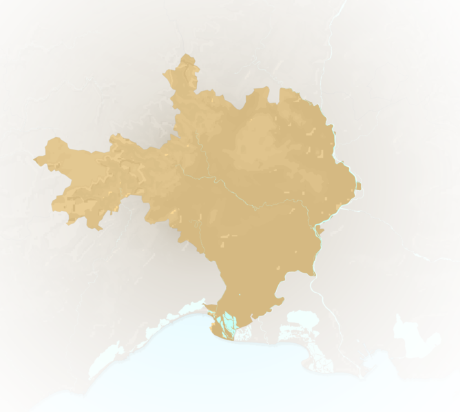 Carte Meteo plage - Gard