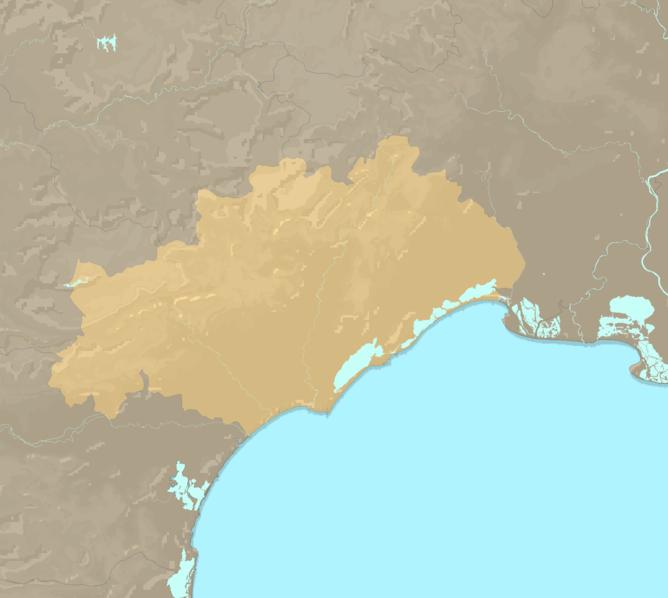 Carte Meteo plage - Hérault