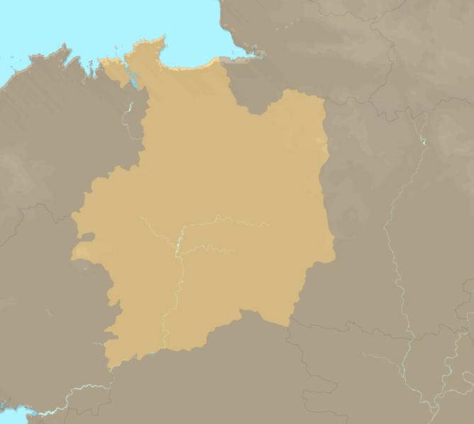 Carte Meteo plage - Ille-et-Vilaine