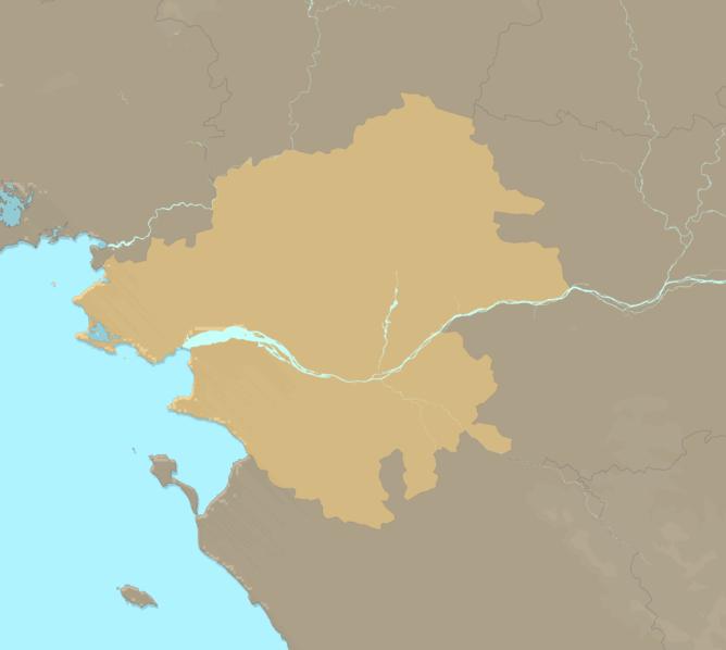 Carte Meteo plage - Loire-Atlantique