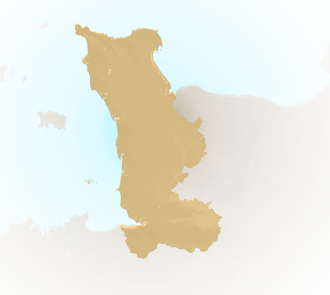 Carte Meteo plage - Manche