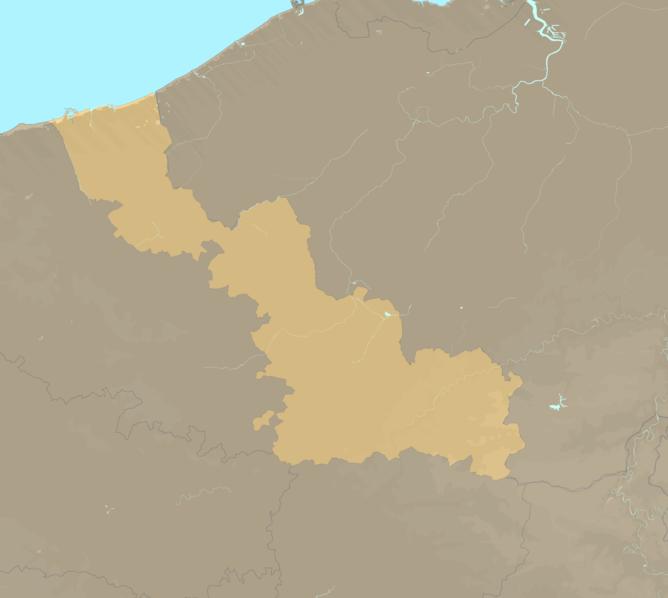 Carte Meteo plage - Nord