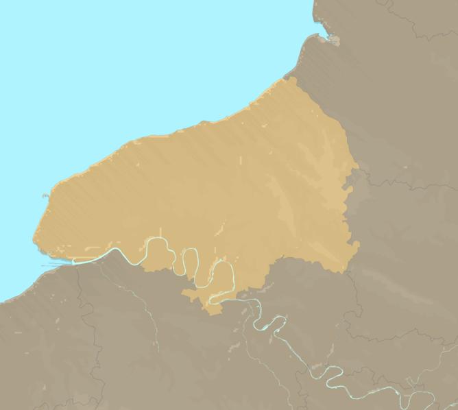 Carte Meteo plage - Seine-Maritime