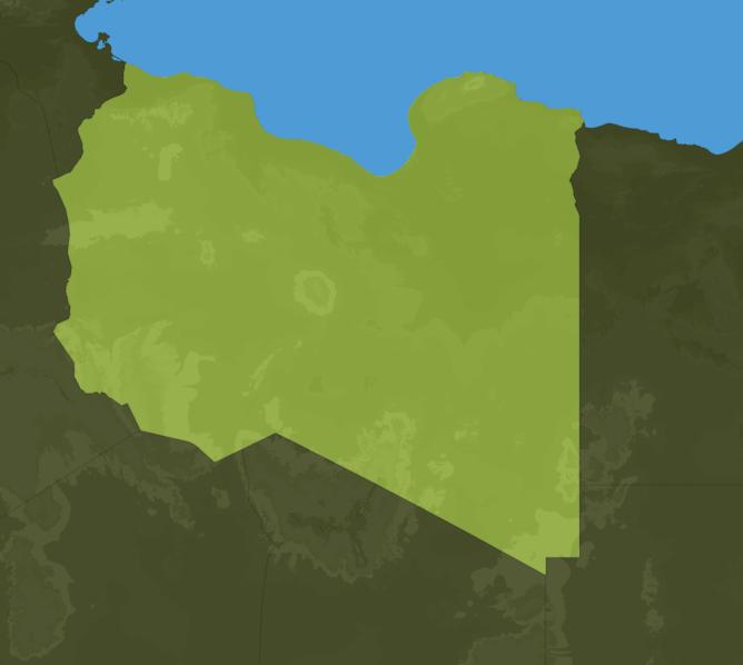 Carte Meteo Libye