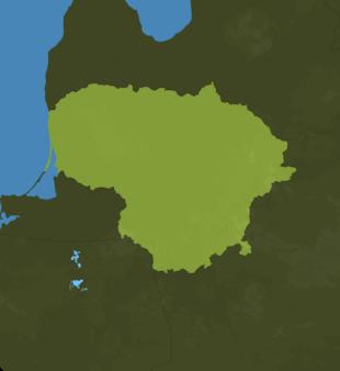 Carte Meteo Lituanie