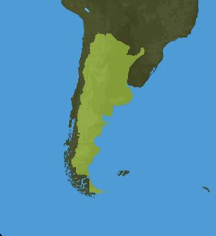 Carte Meteo Argentine