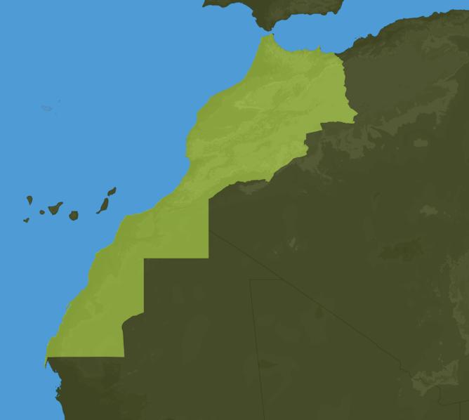 Carte Meteo Maroc