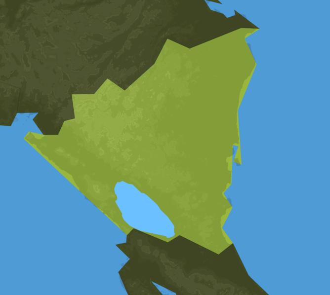 Carte Meteo Nicaragua