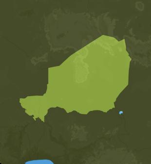 Carte Meteo Niger