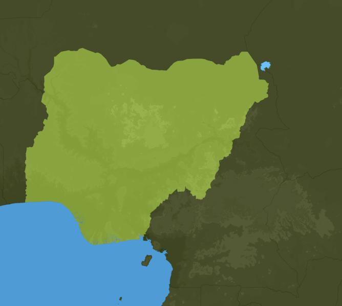 Carte Meteo Nigéria