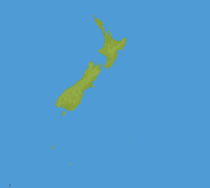Carte Meteo Nouvelle-Zélande