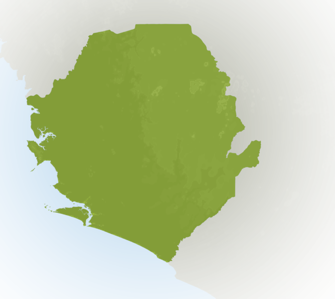 Carte Meteo Sierra-Leone
