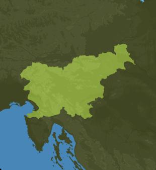 Carte Meteo Slovénie
