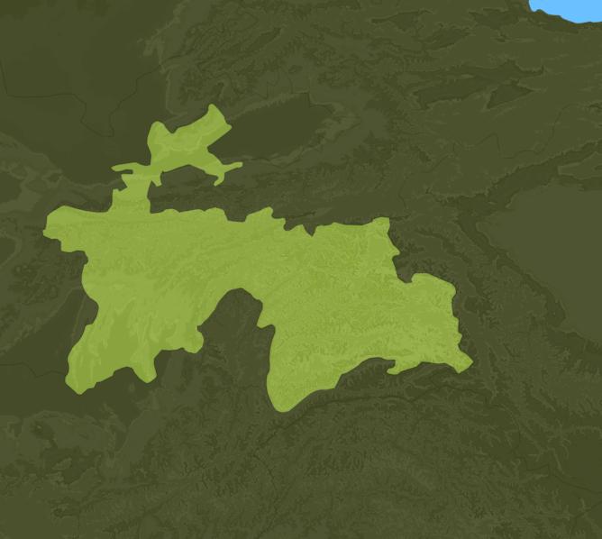 Carte Meteo Tadjikistan