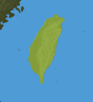 Carte Meteo Taïwan