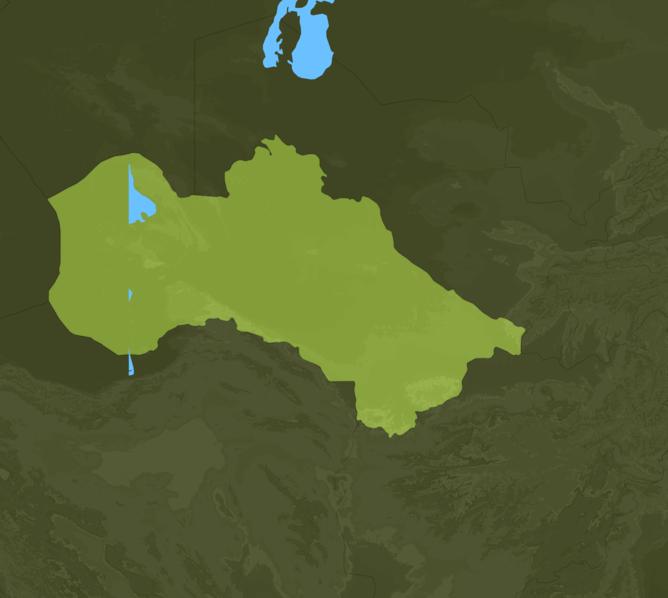 Carte Meteo Turkmenistan