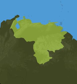 Carte Meteo Vénézuela