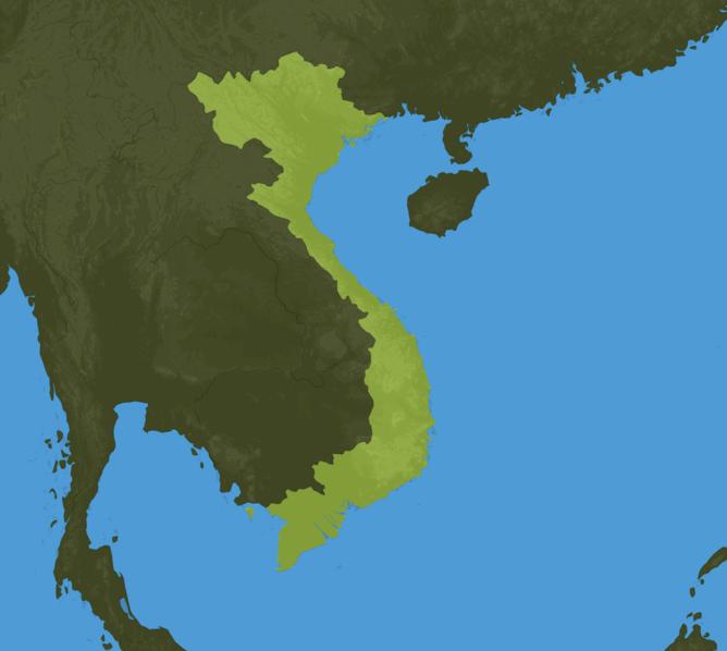 Carte Meteo Vietnam