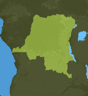 Carte Meteo Rép. démocratique du Congo