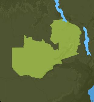 Carte Meteo Zambie