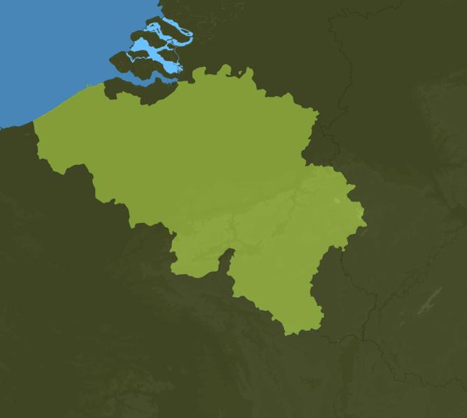 Carte Meteo Belgique
