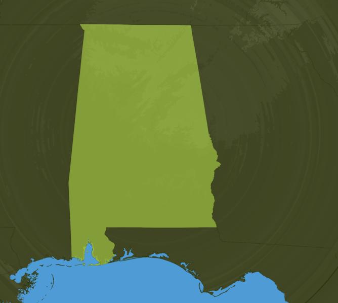 Carte Meteo Alabama
