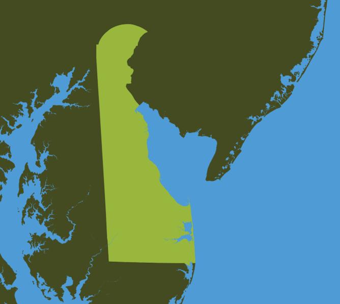 Carte Meteo Delaware