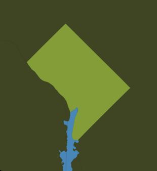 Carte Meteo District de Columbia