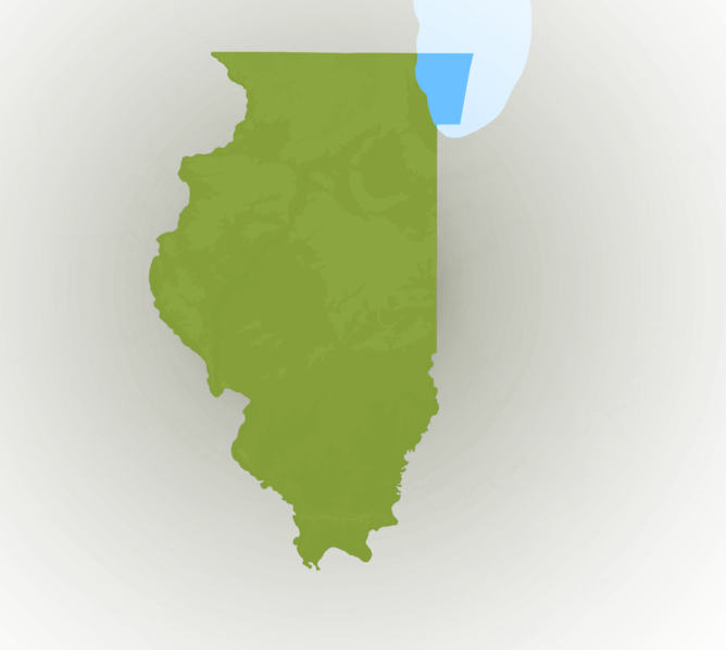 Carte Meteo Illinois