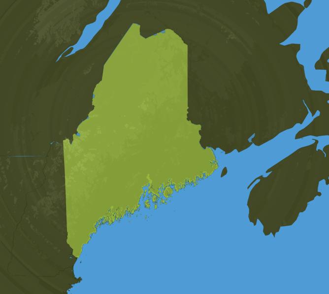 Carte Meteo Maine