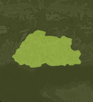 Carte Meteo Bhoutan