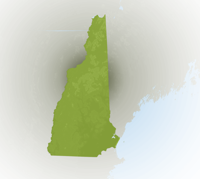 Carte Meteo New Hampshire