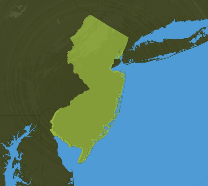 Carte Meteo New Jersey