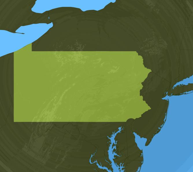 Carte Meteo Pennsylvanie